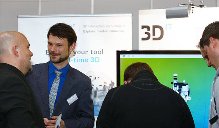 3D<sup>IT</sup> at the Hannover Messe