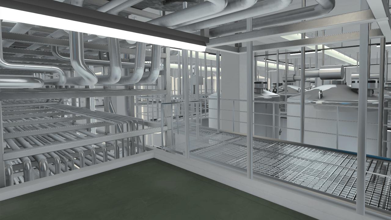 Ausschnitte Aus Einer Interaktiven, Virtuellen Fabrik Fabrikplanung Mit  Hilfe Interaktiver 3D Echtzeit Technologie ...